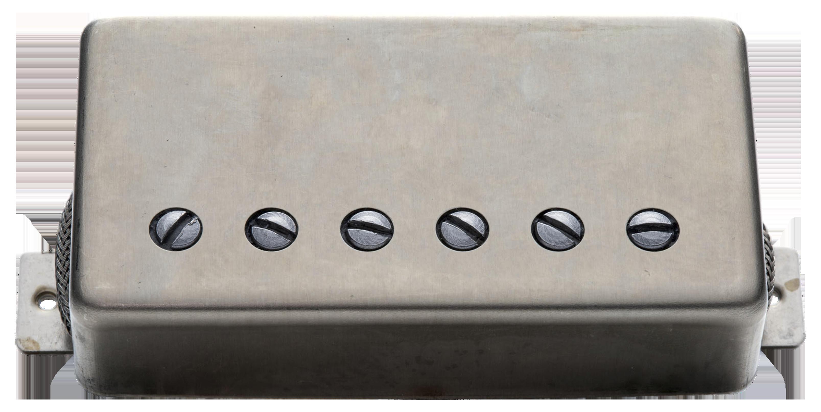 Seymour Duncan Alnico II Pro Slash Humbucker APH-2B Slash Bridge Raw Nickel Cover