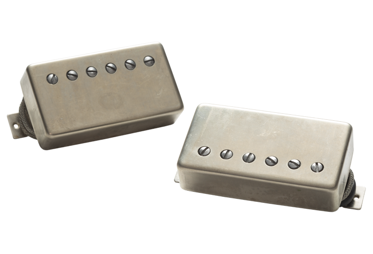 Seymour Duncan Alnico II Pro Slash Humbucker APH-2S Slash Set Raw Nickel Covers