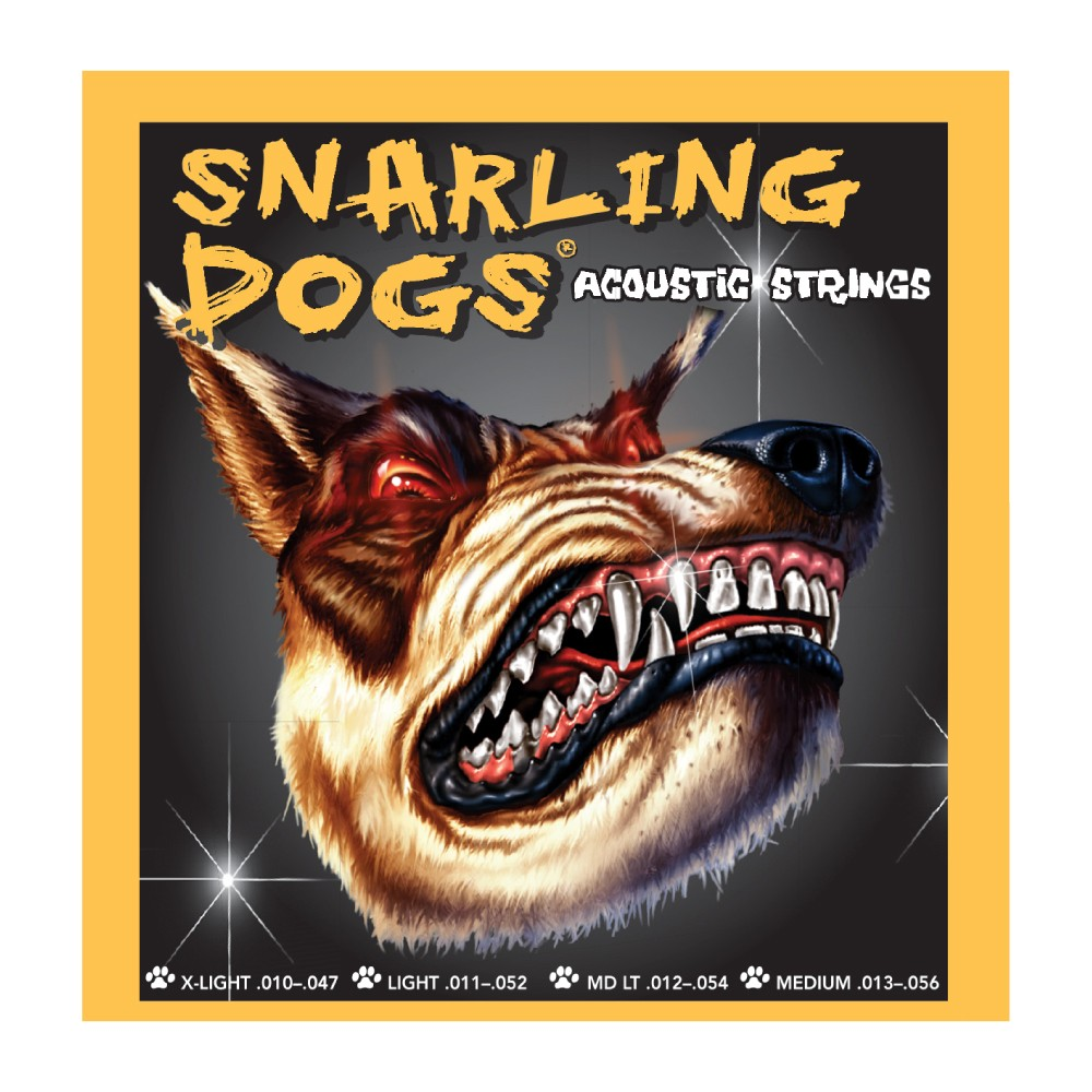 D'Andrea Snarling Dogs - Acoustic Guitar Strings