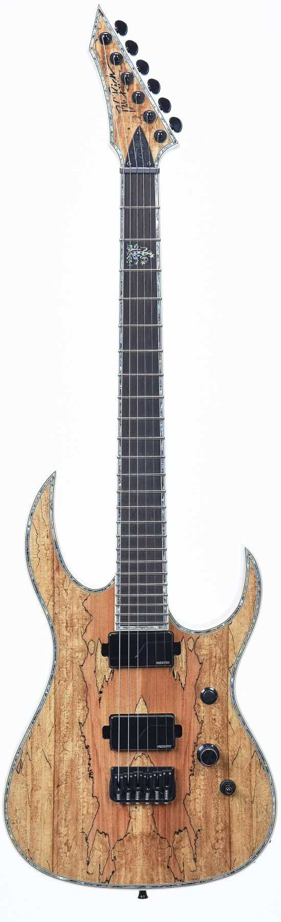 B.C. Rich Shredzilla Extreme Exotic with Hipshot - Spalted Maple