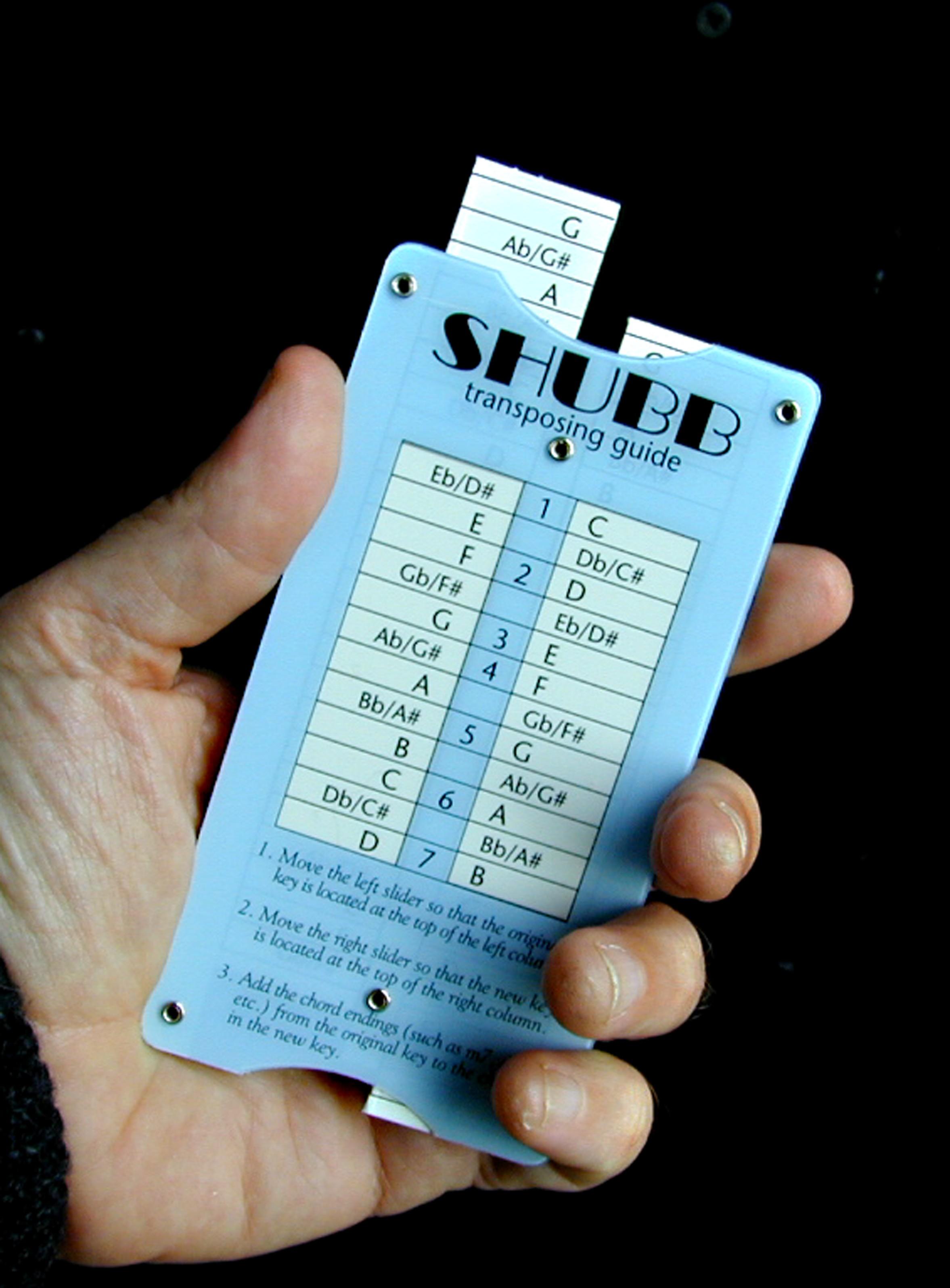 Shubb Transposing Guide