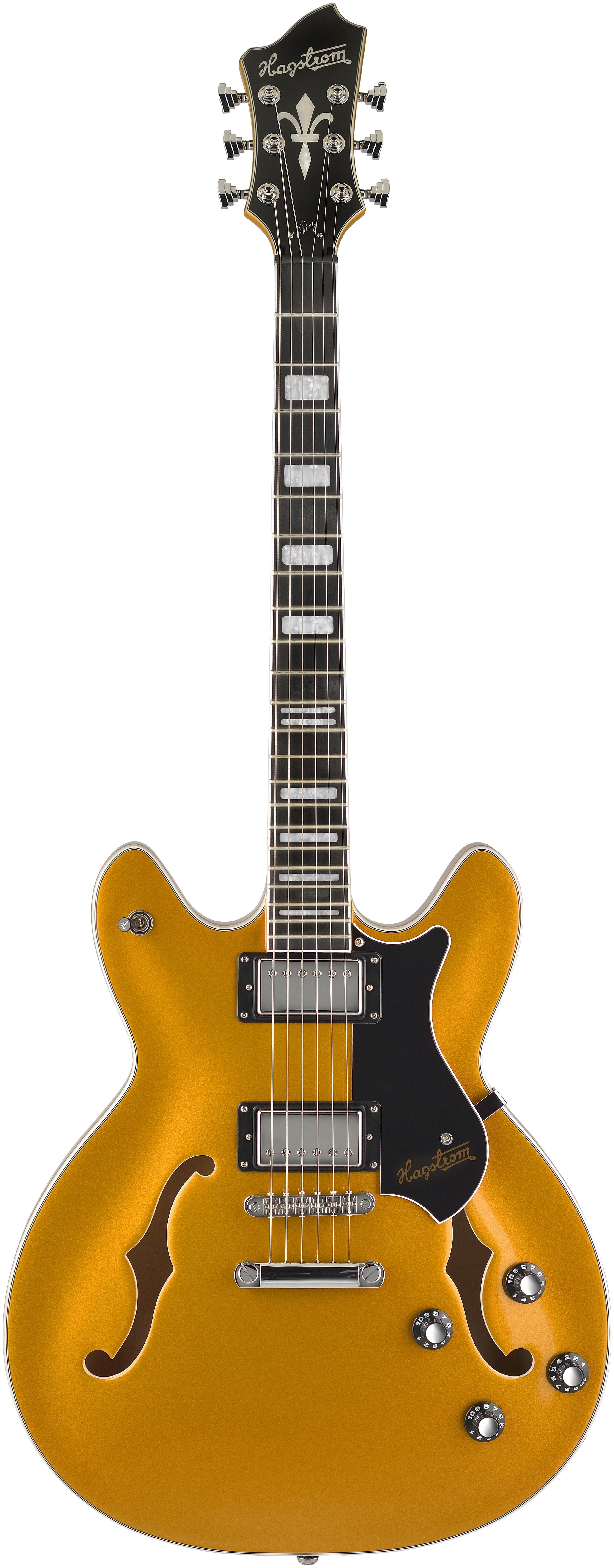 Hagstrom Artist Project Viking Gold Top