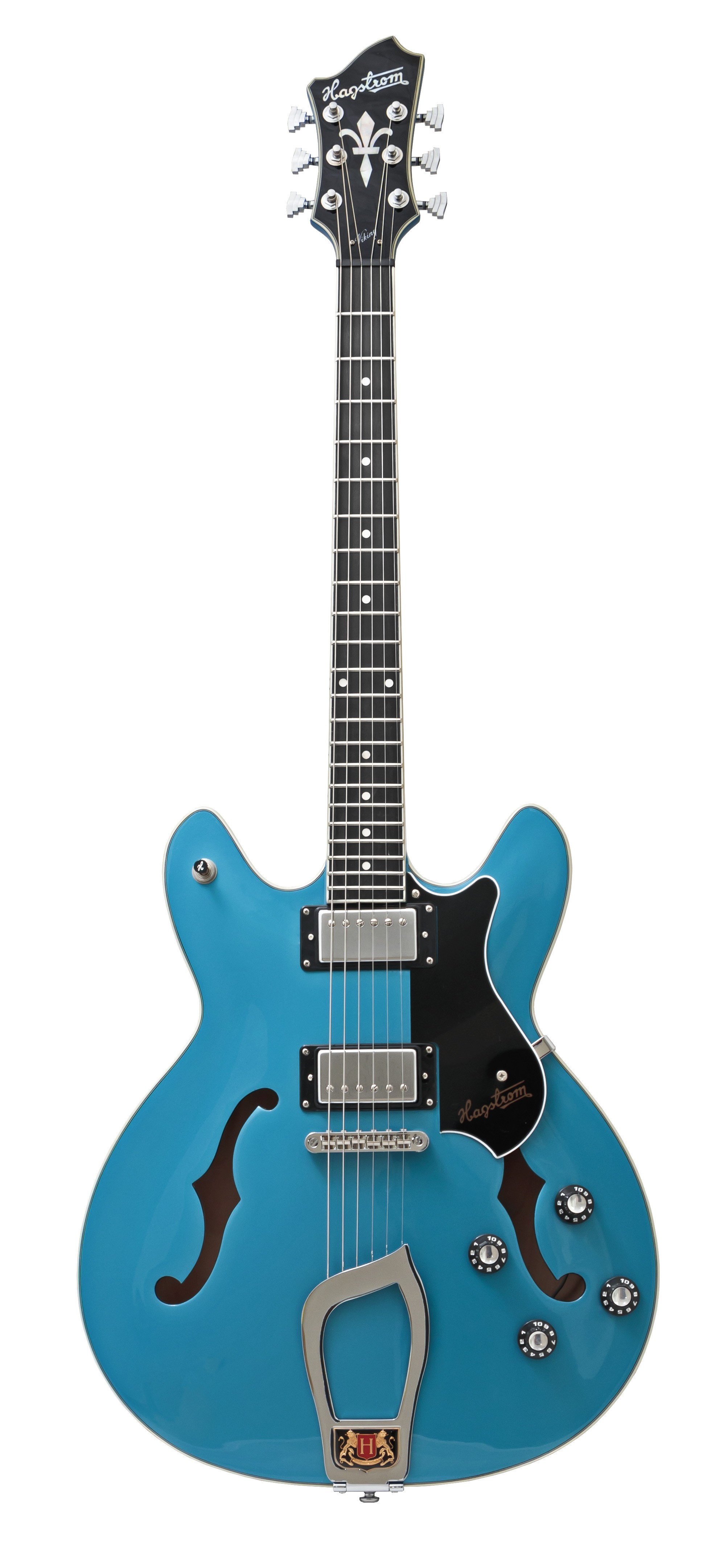 Hagstrom Viking - Limited Edition Miami Blue with Case