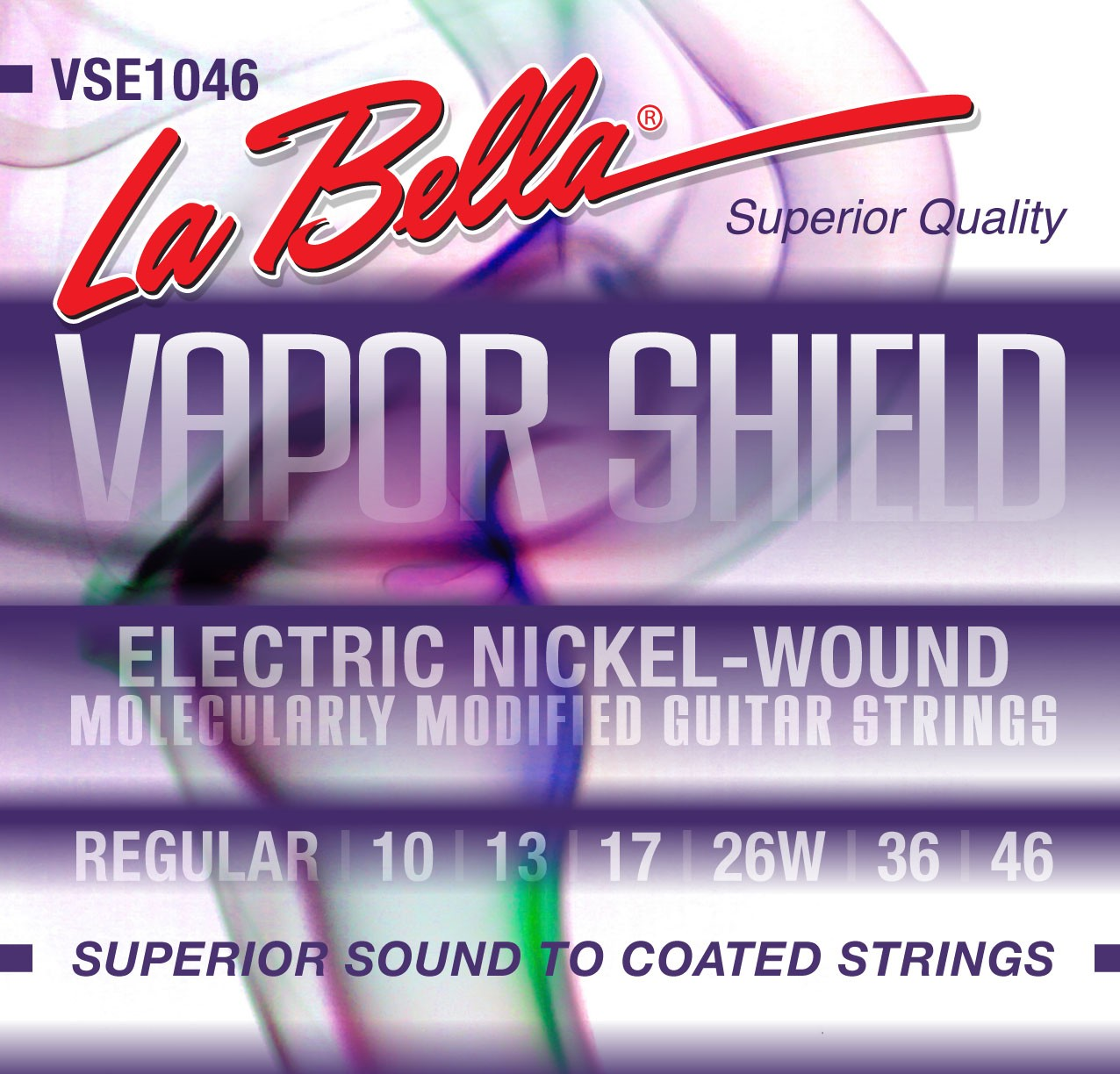 La Bella Electric Guitar Strings - Vapor Shield Series