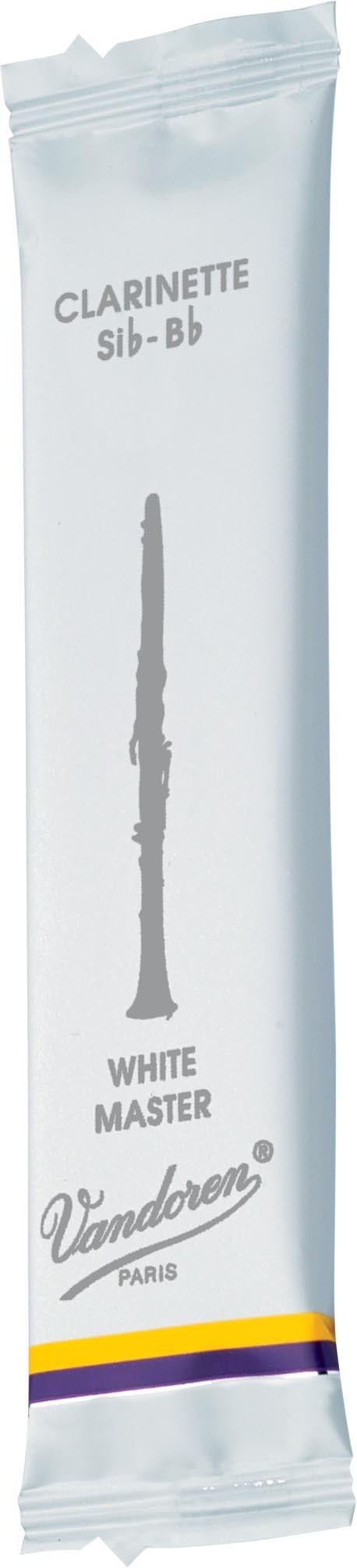 Vandoren German System White Master Bb Clarinet Reeds