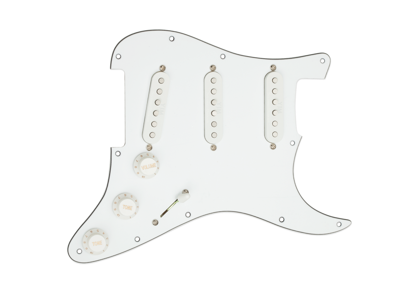 Seymour Duncan Yngwie Malmsteen YJM Fury Loaded Pickguard White