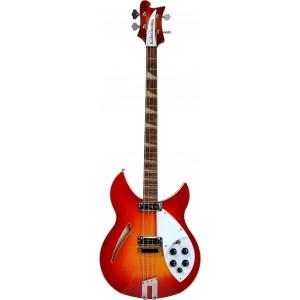 Rickenbacker Limited Edition 90th Anniversary 4005XC Bass - Amber Fireglo