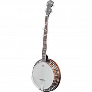 Adam Black BJ-04 Deluxe 5-String Banjo with Gigbag - Vintage Sunburst