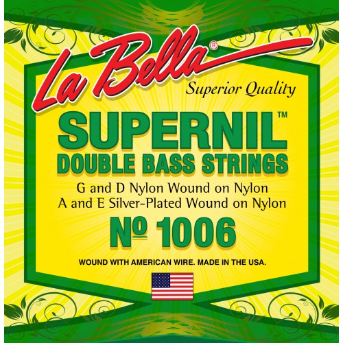 La Bella Double Bass Strings - Supernil Series