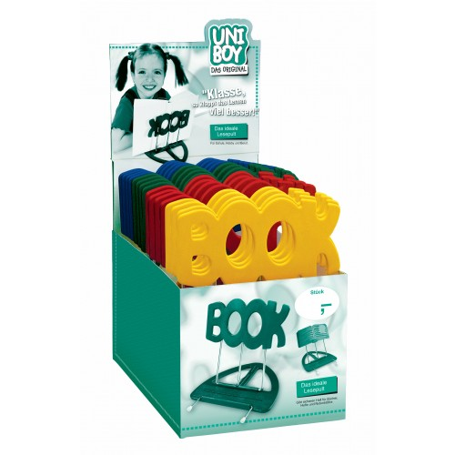 """Konig & Meyer 12440 Uni-Boy """"Book"""" Stands - Mixed Display Pack of 22"""