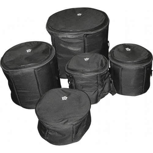 Rosetti Padded 5-Piece Drum Bag Set