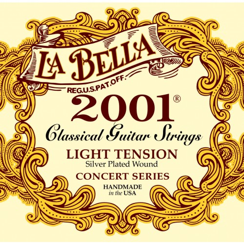 La Bella Classical Guitar Strings - 2001 Series