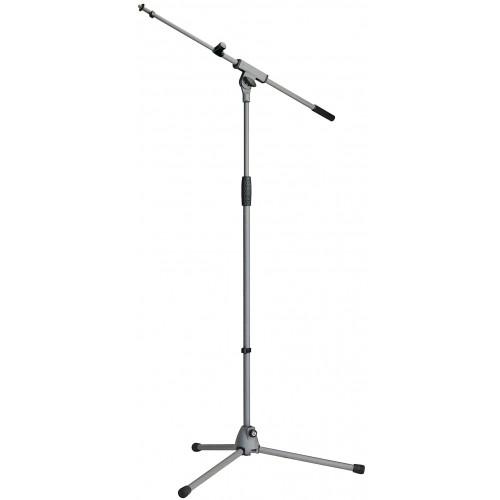 "Konig & Meyer 210/8 ""Soft Touch"" Microphone Stand - Grey"