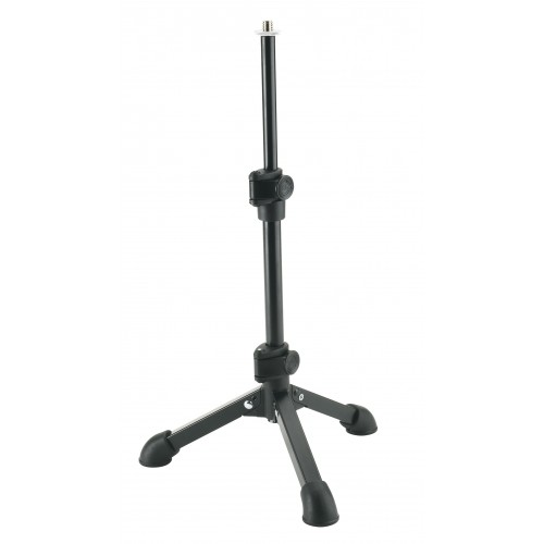 "Konig & Meyer 23150 Tabletop Microphone Stand - 1/4"" Mount"