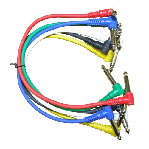 Rosetti 1' Patch Cables (Assorted Bag of 6)