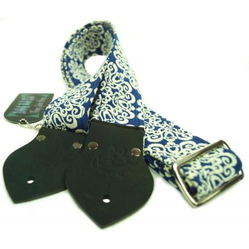 Dog Days Royal Blue Mandala 2-Inch Strap
