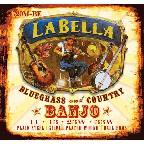La Bella Banjo Strings