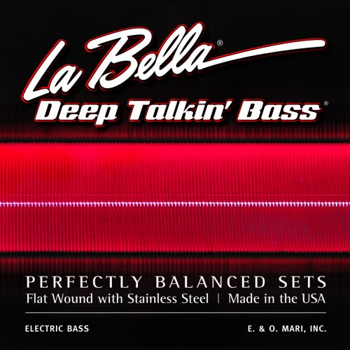 La Bella Bass Guitar Strings - Danelectro Longhorn Style Deep Talkin' Bass