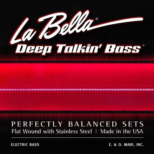 La Bella Bass Guitar Strings - Danelectro Longhorn Style Deep Talkin' Bass