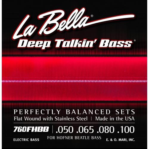 "La Bella Bass Guitar Strings - Hofner ""Beatle"" Deep Talkin' Bass Series"