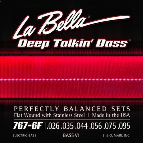 La Bella Bass Guitar Strings - Bass VI Deep Talkin' Bass Series