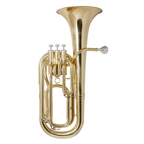 Rosetti Series 5 Bb Baritone Horn Outfit - Lacquer
