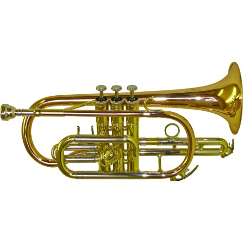 Rosetti Series 5 Bb Cornet Outfit - Lacquer