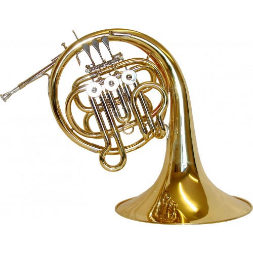 Rosetti Series 5 Bb Kinder French Horn Outfit - Lacquer
