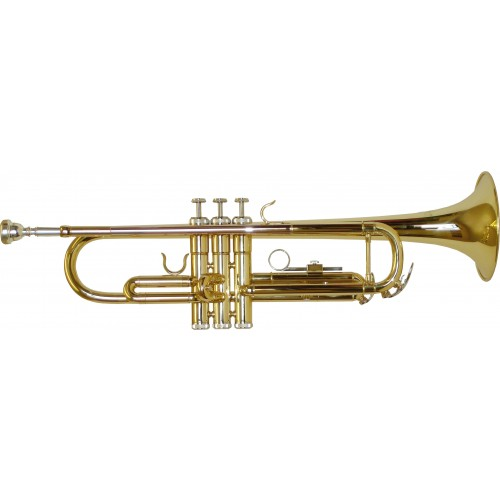 Rosetti Series 5 Bb Trumpet Outfit - Lacquer