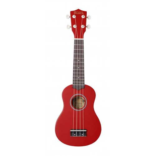 Adam Black ABUK20 Soprano Ukulele - Red