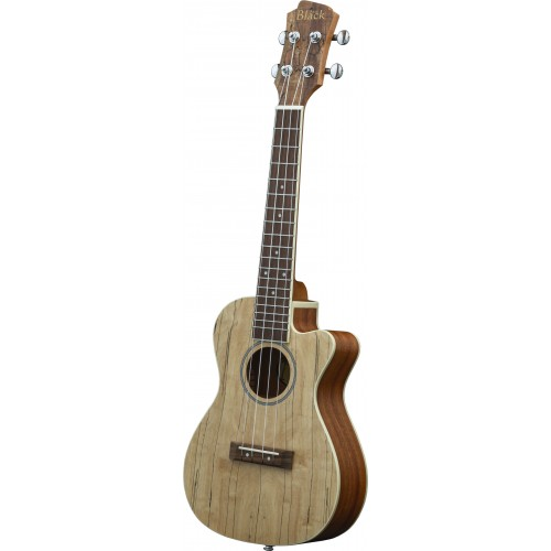 Adam Black Exotic Wood Series Concert CE Ukulele - Spalted Maple