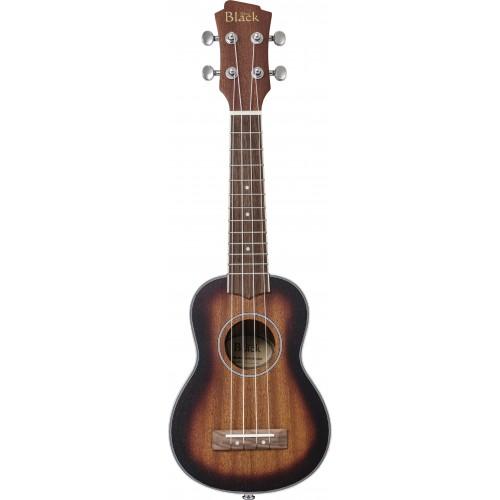 Adam Black ABUKSB120 Electro Acoustic Soprano Ukulele - Sunburst