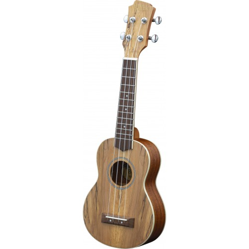 Adam Black Exotic Wood Series Soprano Ukulele - Spalted Maple
