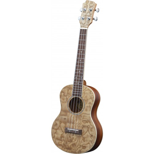 Adam Black Exotic Wood Series Tenor Ukulele - Quilted Ash