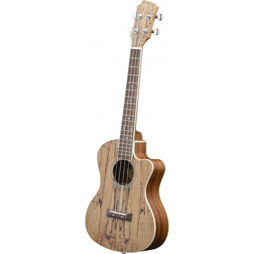 Adam Black Exotic Wood Series Tenor CE Ukulele - Spalted Maple