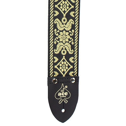 D'Andrea 2 Inch ACE Vintage Reissue Strap - Old Gold