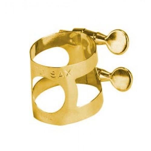 Faxx Alto Saxophone Ligature Lacquered Brass
