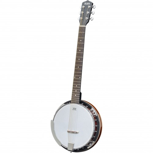 Adam Black BJ-03 6-String Banjo with Gigbag - Vintage Sunburst