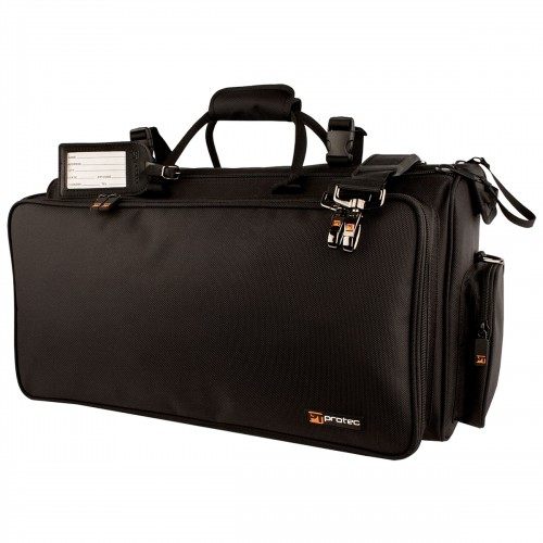 Protec Triple Horn Gig Bag - Gold Series (C248)