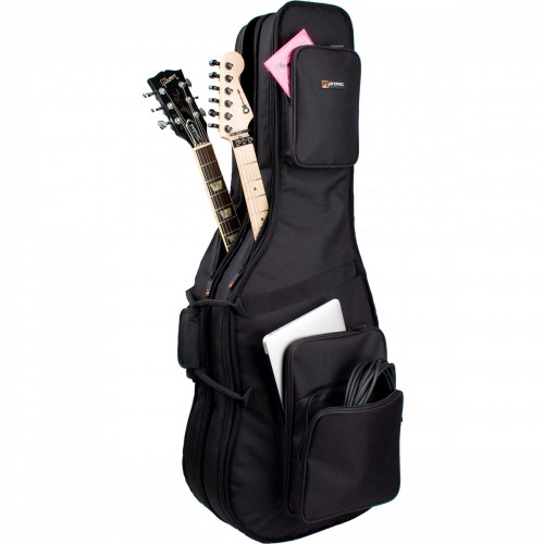 Protec Double Electric Guitar Gig Bag - Gold Series (CF234DBL)