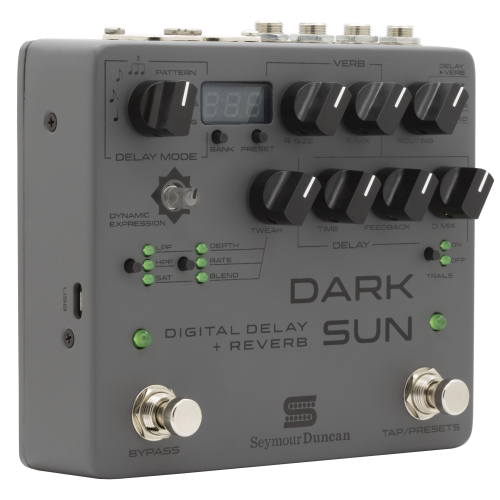 Seymour Duncan Dark Sun Digital Delay + Reverb Pedal