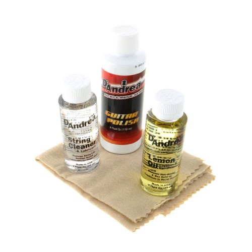 D'Andrea Guitar Care Kit