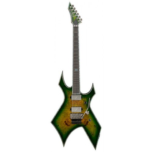 B.C. Rich Warlock Extreme Exotic with Floyd Rose - Reptile Eye