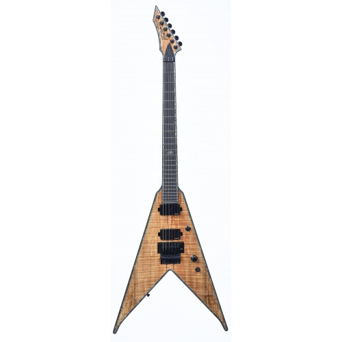 B.C. Rich Jr V Extreme Exotic with Floyd Rose - Spalted Maple