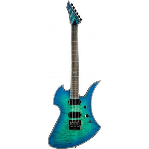 B.C. Rich Mockingbird Extreme Exotic with Evertune - Cyan Blue