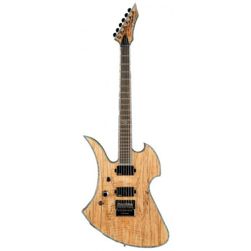 B.C. Rich Mockingbird Extreme Exotic with EverTune Left Hand - Spalted Maple