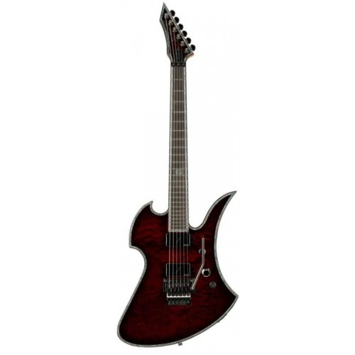B.C. Rich Mockingbird Extreme Exotic with Floyd Rose - Black Cherry Quilt