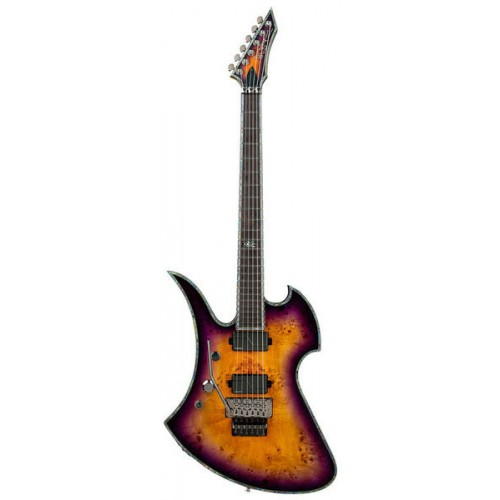 B.C. Rich Mockingbird Extreme Exotic with Floyd Rose Left Hand - Purple Haze