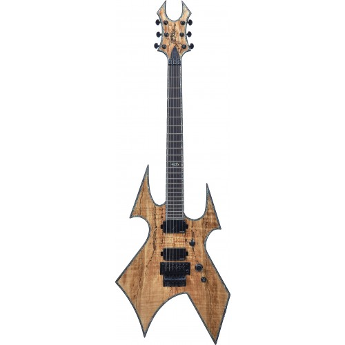 B.C. Rich Warbeast Extreme Exotic with Floyd Rose - Spalted Maple