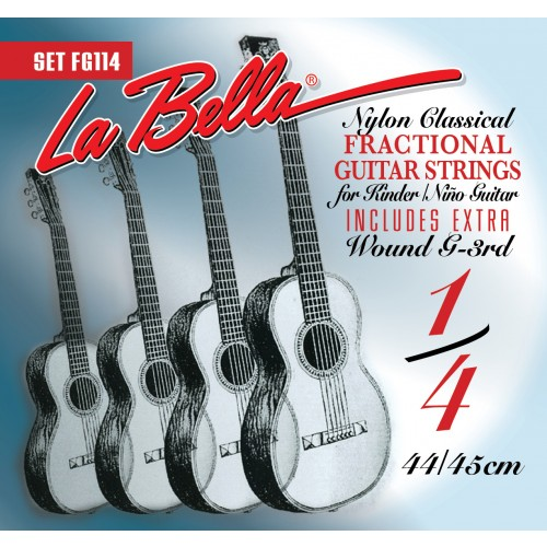 La Bella Classical Guitar Strings - Fractional Series